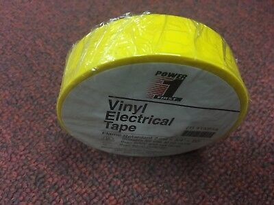 Electrical Tape Power First Vinyl 7mm 34 X 60 Yellow