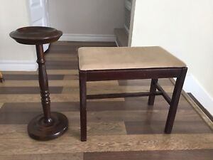 Footrest and stand