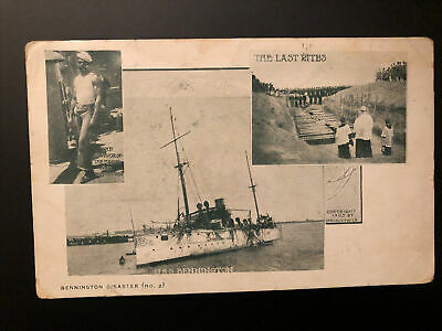 1905 USS Bennington Disaster African American Survivor John Henry Turpin Navy