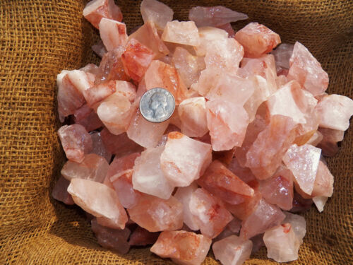 2000 Carat Lots of Unsearched fire quartz - Plus a FREE faceted Gemstone