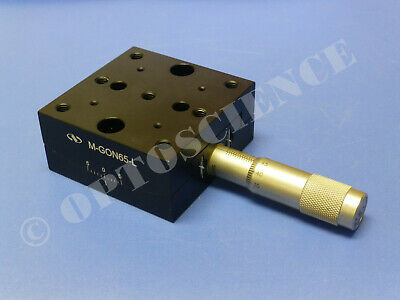 Newport M-gon65-l Goniometric Stage Lower Goniometer Sm-25 Micrometer Metric