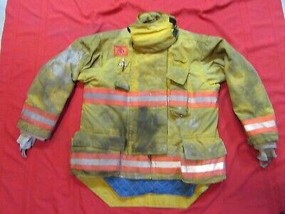 2007 Morning Pride Drd 44 X 34 Firefighter Turnout Jacket Coat Bunker