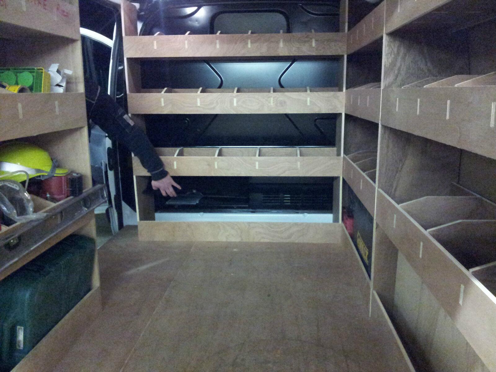 how to build van racking