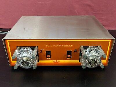 Virtis Dual Peristaltic Pump Module 6715.1815.0c Cole-parmer 7016-20 Heads 1 Rpm