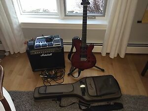 Electric guitar package - Godin xtsa