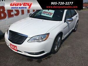 2014 Chrysler 200 Limited LEATHER INTERIOR, SUNROOF, BLUETOOTH
