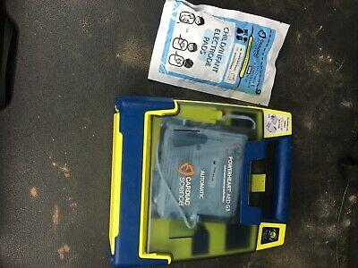 Cardiac Science Powerheart G3 Aed Defibrillator W Battery With Cable