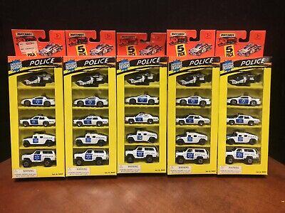 Matchbox 1995 Police 5 Pack Lot Of 5 Dela2860