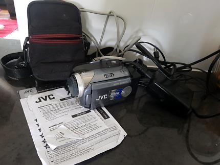 JVC recorder and camera