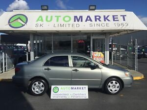 2004 Toyota Corolla CE AUTO YOU WORK/YOU DRIVE!