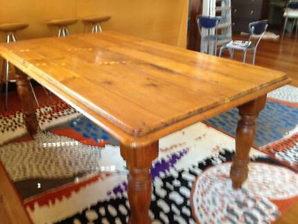 Beautiful Solid Wood Dining Table Erskineville Inner Sydney Preview