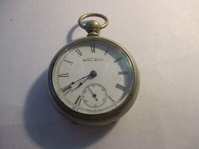 1891 Waltham Huge Key Wind pocket watch
