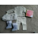 American Girl Doll Soft As Snow Outfit - Set - New in Box