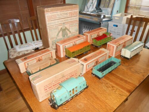 Lionel Standard Gauge Freight Set No. 354 complete OB with Set Box 1929 Only