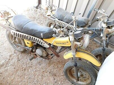 '75 SUZUKI RV125M TWO (2) BIKES RV 125 Vintage MX MotoCross TITLES w/EXTRA MOTOR
