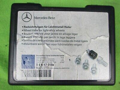 Original Felgenschlss Radsicherung Mercedes W164 W166 X204 W251 W220 W221 W222