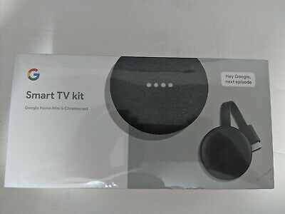 Google Smart TV Kit: Google Home Mini and Chromecast Sealed