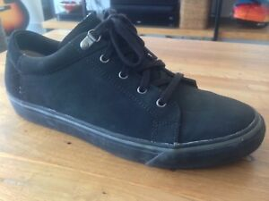 Men's Black Suede Shoes - Worn Once