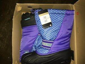 Brand new sorel winter boots size 5 youth