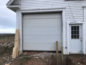 2 Large Garage Doors