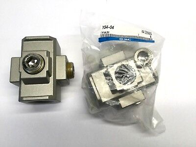 Lot Of Of 2 Smc Y54-04 Cross Spacers Ac Frl Combo