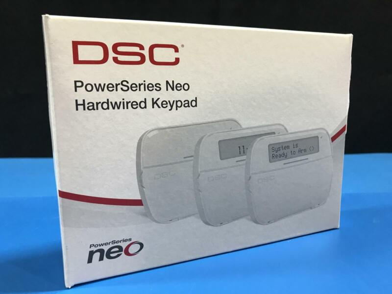 DSC PowerSeries Neo HS2LCDP N Hardwired LCD Alarm Keypad w/ Prox Tag Support