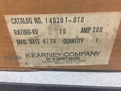 New In Box Kearney 15 Kv 200 Amp Fuse Cutout 148201-010