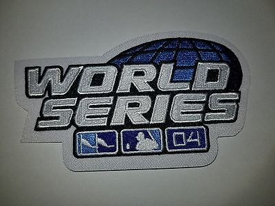 9601 2004 World Series BOSTON RED SOX vs St Louis Cardinals Patch For Jersey NEW 2004 World Series Patch