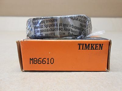 Lot 2 Nib Timken M86610 Tapered Roller Bearing Cup 2.5312 X 0.6563 Non-flanged
