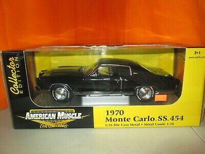 Ertl Collectibles 1970 Chevy Monte Carlo SS 454 Limited Ed 1:18 Diecast in Box
