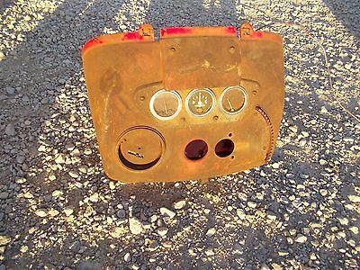 International 300u 300 350 Utility Tractor Ih Dash Holder W Gauges Cover