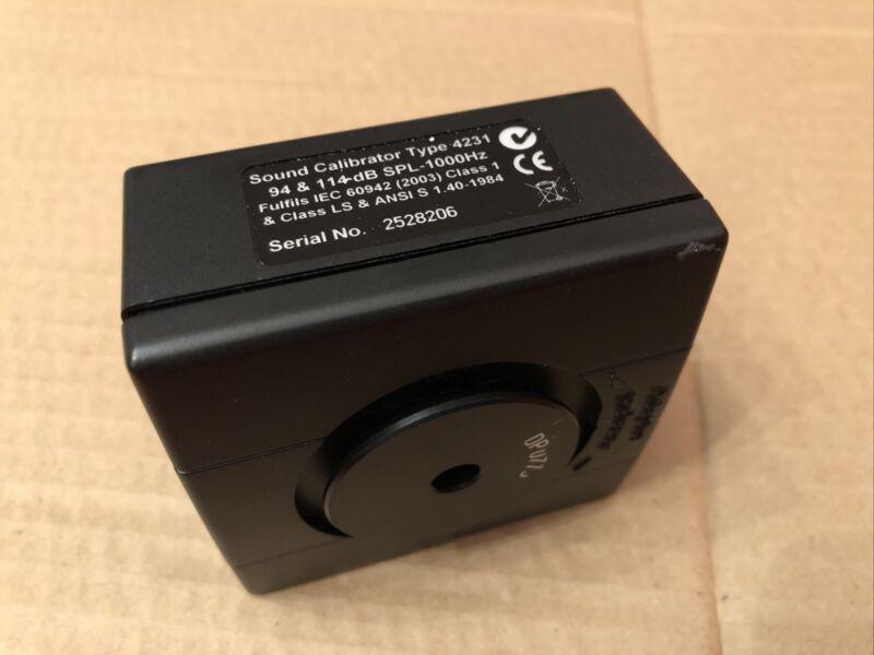 Bruel & Kjaer 4231 Sound Calibrator