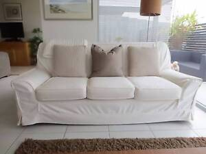 Lounge 3-seater with armchair Kingston Kingborough Area Preview