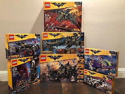 The LEGO Batman Movie Lot 70917, 70908, 70916, 70905, 70923, 70906, 70911