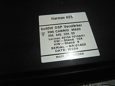 1x DSP Verstaerker M680 fuer PORSCHE 996 Cabrio 996.645.324.00