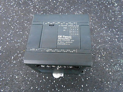 Ge Fanuc Versamax Ic200uer016-a 16 Relay Output Micro Controller Unit