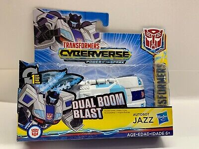 Transformers Cyberverse Action Attackers: 1-Step Autobot Jazz Action Figure NEW