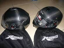 For Sale two Two Flip face helmets and Intercom - details below Port Kennedy Rockingham Area Preview