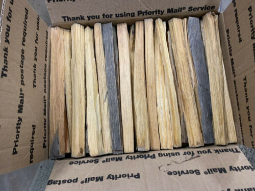 Pitch Wood Fatwood Fire Starter Kindling, medium Flat Rate Box Full