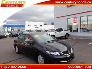 2013 Honda Civic WARRANTY TO 160K LX