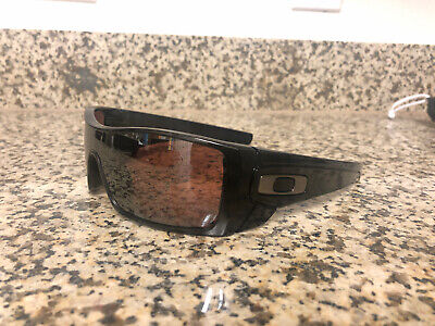 Oakley Batwolf Polarized Sunglasses Black And Ghost Text