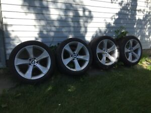 "BMW 20"" tires and rims"