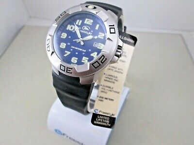 Freestyle Bullshark 76434 men's dive watch 200M date solid st. steel case NOS