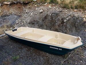 12' American Dolphin Jon boat