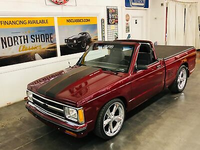 1983 Chevrolet S-10 -CUSTOM SHOW TRUCK - REMOVABLE TOP - 383 STROKER - Burgundy/Maroon Chevrolet S-10 with 87,242 Miles available now!