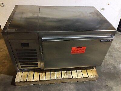 New Cospolich 48 Stainless Steel Undercounter Refrigerator Ucr10-2m-snm-mlr