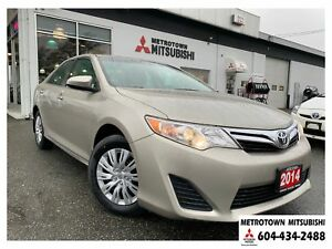 2014 Toyota Camry LE; Local & No accidents!