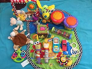Various baby toys incl Lamaze, Fisher Price, Sophie, tummy time Manly Vale Manly Area Preview