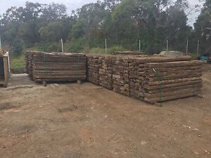 A Grade Railway Sleepers Birkdale Redland Area Preview