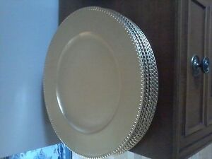 Charger plates